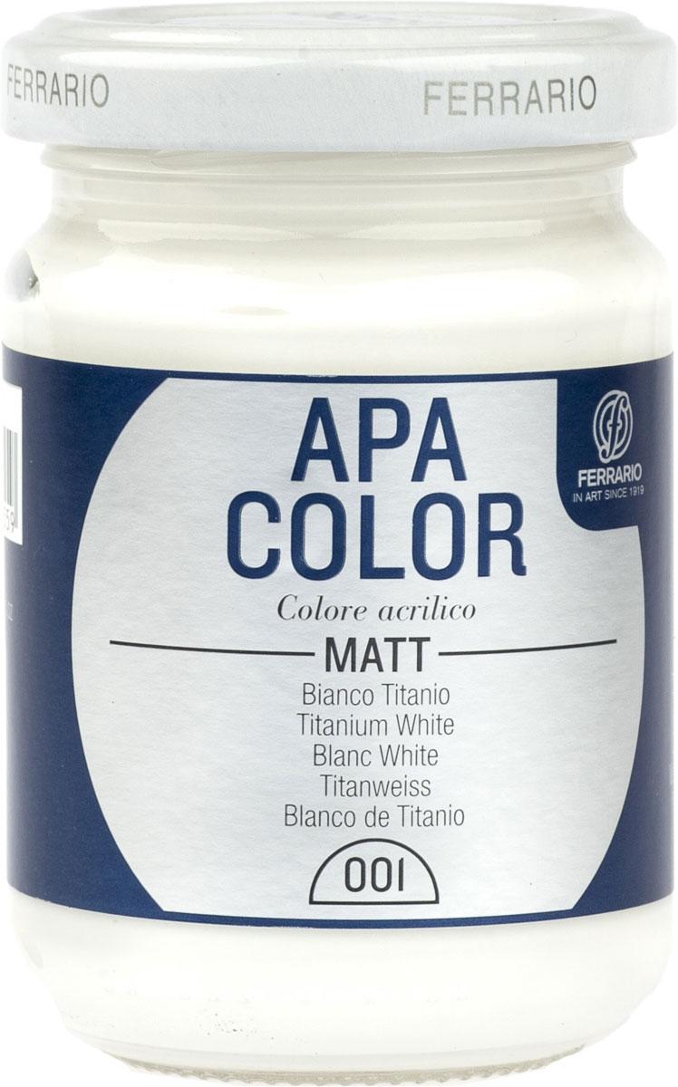 Ferrario Краска акриловая Apa Color цвет белыйBA0095AO001Матовая акриловая краска Apa Color итальянской компании Ferrario на водной основе, готова к использованию. Основные качества акриловой краски Apa Color: прочность, светостойкость и экологичность. Благодаря акриловой смоле Apa Color пластична и не дает трещин. Именно поэтому краска прекрасно ложится на любые поверхности, будь то стекло, дерево или ткань, что особенно хорошо в дизайне и декоре. Она быстро сохнет, после высыхания становится водостойкой. Акриловая краска Apa Color не потускнеет со временем, ее светостойкость не позволит измениться цвету, он не выгорит на солнце и не пожелтеет. Акриловая краска Apa Color – это отличный выбор в пользу яркой живописи, так как в ее палитре только глубокие и насыщенные цвета. Из-за того, что акриловая краска Apa Color на водной основе, она почти совсем не пахнет, малотоксична – подходит для работы в помещениях, можно заниматься творчеством вместе с детьми. Акриловая краска Apa Color разводится водой, однако это не значит, что для нее нельзя использовать специальные растворители и медиумы, предназначенные для акриловых красок – в этом случае сохраняется высокая пигментированность, но объем краски увеличивается и появляется возможность создания различных фактур и эффектов. Акриловую краску Apa Color легко наносить кистью, шпателем, валиком.