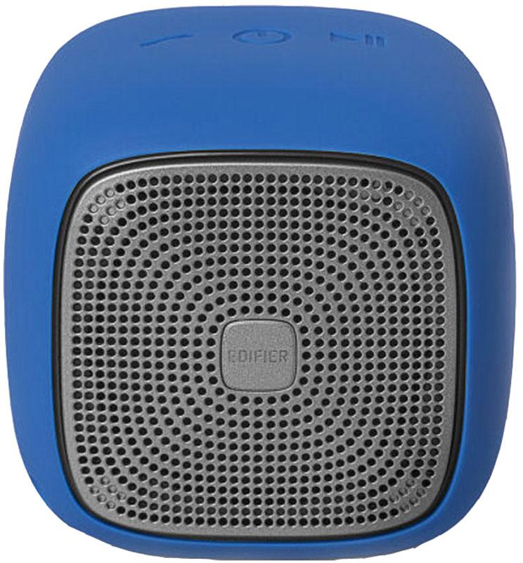 Edifier MP200, Blue портативная акустическая системаMP200 BlueEdifier MP200 - кубик счастья, заряженный мощными звуками. 5,5 Вт - небывалая мощь для такого размера. Совместимость с технологией Bluetooth 4.1 и функцией microSD дает вам несколько способов воспроизведения ваших любимых треков, а встроенный микрофон с функцией шумоподавления превращает систему в надежного секретаря. Наличие встроенного CSR значительно снизило помехи при дистанционном использовании.Встроенный аккумулятор 2200 мАч высокой емкости позволяет использовать MP200 до 12 часов в режиме воспроизведения музыки.Edifier МР200 не страшны капризы погоды. Высокая степень влагозащиты подтверждена стандартом IP54.