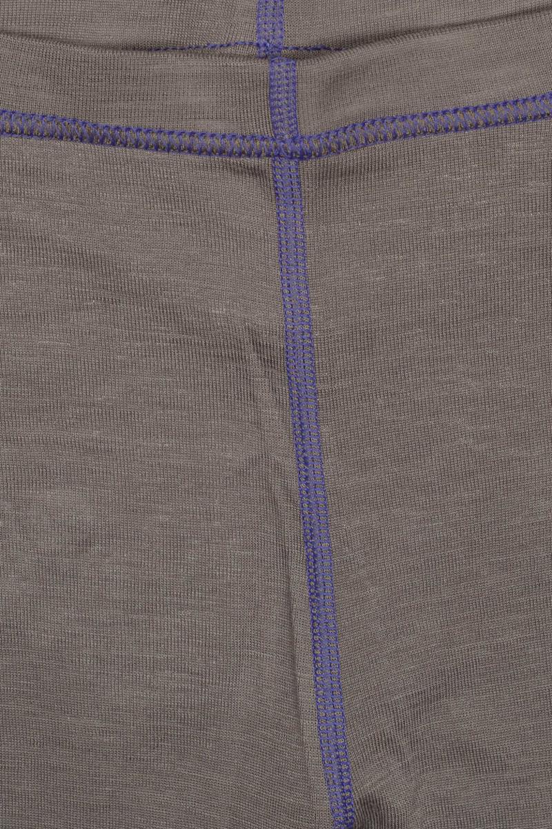 Термобелье брюки детские atPlay!, цвет:  серый, фиолетовый.  3tpt762.  Размер 128