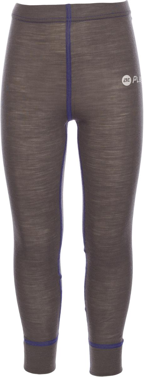 Термобелье брюки детские atPlay!, цвет: серый, фиолетовый. 3tpt762. Размер 1223tpt762Термобелье брюки atPlay! выполнены из шерсти мериносовых овец. Легкое, удобное, не стесняющее движений термобелье станет идеальным первым слоем и отличным дополнением к мембранной одежде. Спасает от переохлаждения и от перегрева, а также отводит излишек влаги от кожи. Плоские швы не натирают и не давят на кожу. Шерсть мериносов не колется и не вызывает аллергию. Этот тип термобелья подойдет для чувствительных к холоду детей и при очень низких температурах воздуха.