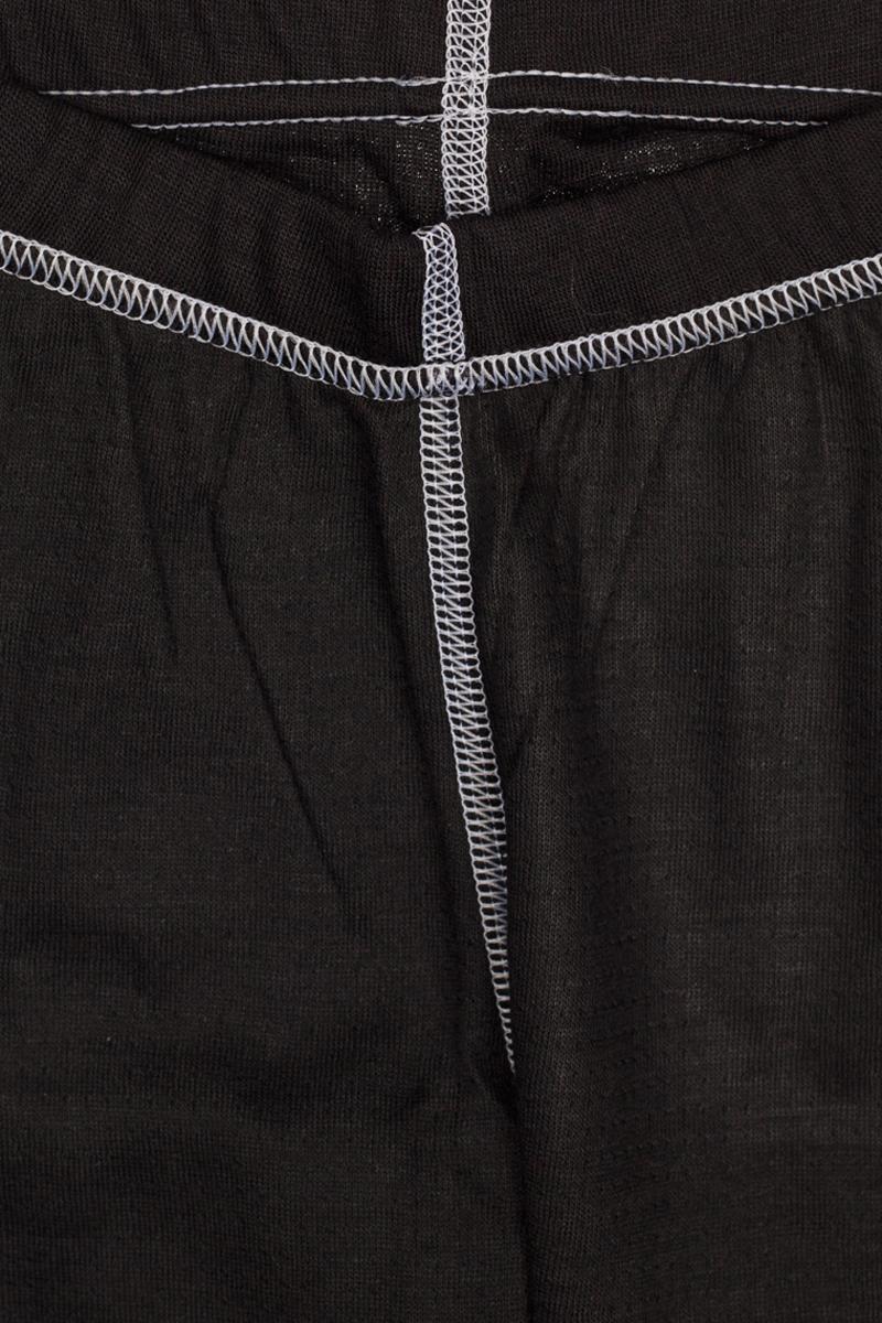 Термобелье брюки детские atPlay!, цвет:  черный, белый.  3tpt762.  Размер 86