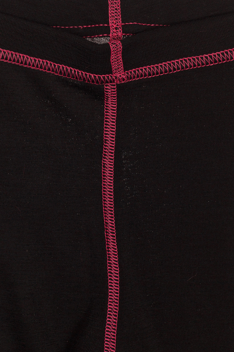 Термобелье брюки детские atPlay!, цвет:  черный, розовый.  3tpt762.  Размер 92