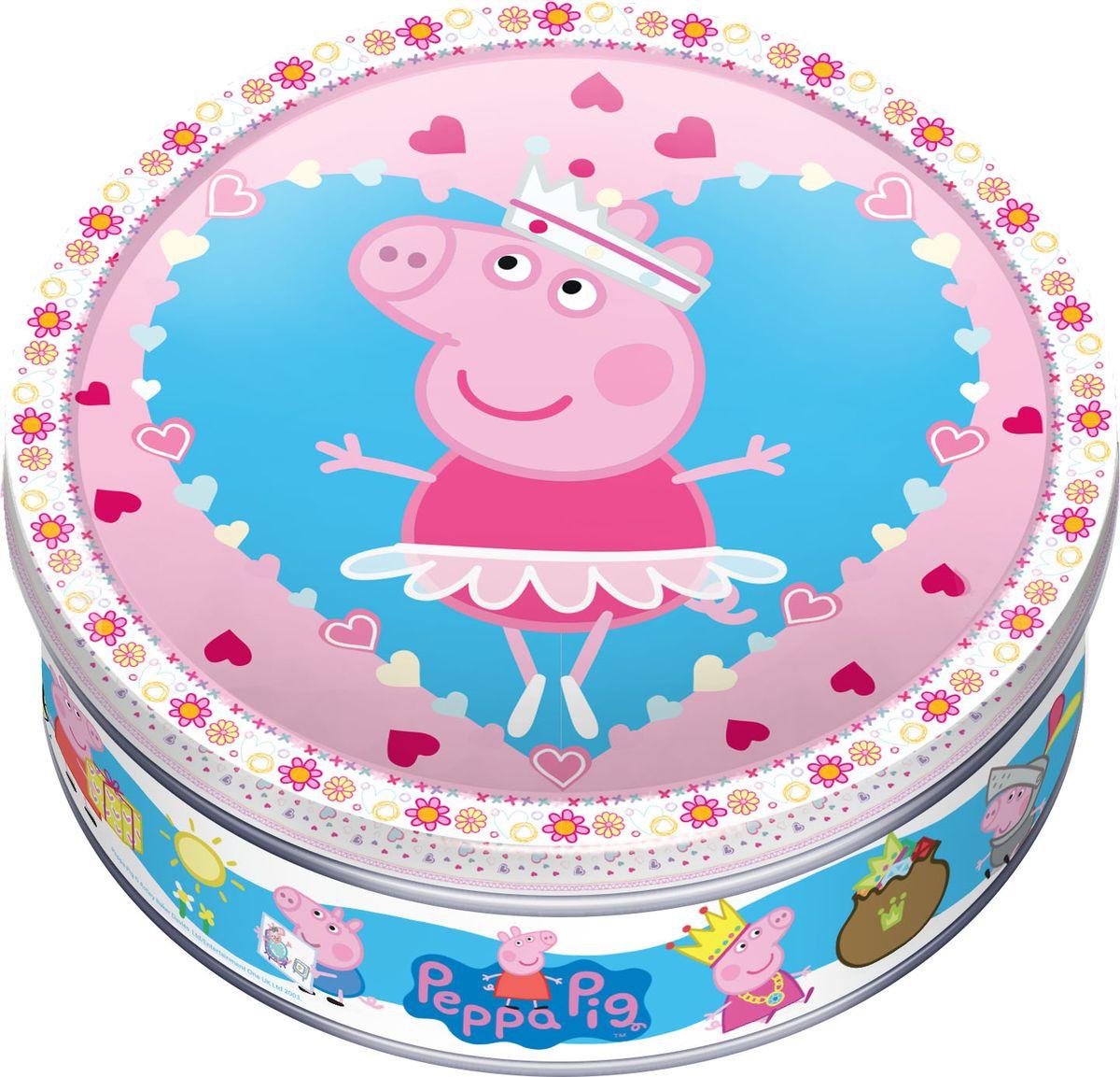 Peppa Pig печенье сдобное с шоколадом, 150 гMC-6-11/PPСвинка Пеппа – один из самых известных брендов в мире! Поклонники мультфильма Свинка Пеппа будут рады, что их любимые персонажи на сладкой продукции. Когда печенье закончится, упаковку можно будет использовать для хранения мелочей, игрушек или школьных принадлежностей.
