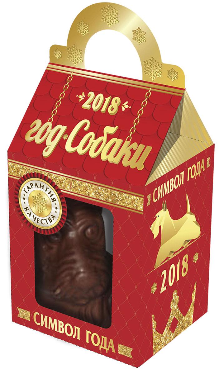 Сладкая Сказка Собака фигурный шоколад, 55 гMK-93Шоколад фигурный в виде символа наступающего года.