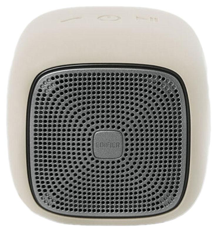 Edifier MP200, White портативная акустическая системаMP200 WhiteEdifier MP200 - кубик счастья, заряженный мощными звуками. 5,5 Вт - небывалая мощь для такого размера. Совместимость с технологией Bluetooth 4.1 и функцией microSD дает вам несколько способов воспроизведения ваших любимых треков, а встроенный микрофон с функцией шумоподавления превращает систему в надежного секретаря. Наличие встроенного CSR значительно снизило помехи при дистанционном использовании.Встроенный аккумулятор 2200 мАч высокой емкости позволяет использовать MP200 до 12 часов в режиме воспроизведения музыки.Edifier МР200 не страшны капризы погоды. Высокая степень влагозащиты подтверждена стандартом IP54.