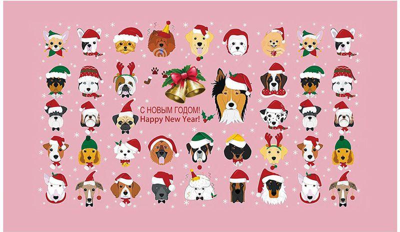 Полотенце кухонное Soavita Собаки новогодние, 38 х 64 см93502Что бы изделие прослужило долго, нужно соблюдать правила ухода, см. значки ухода за изделием.