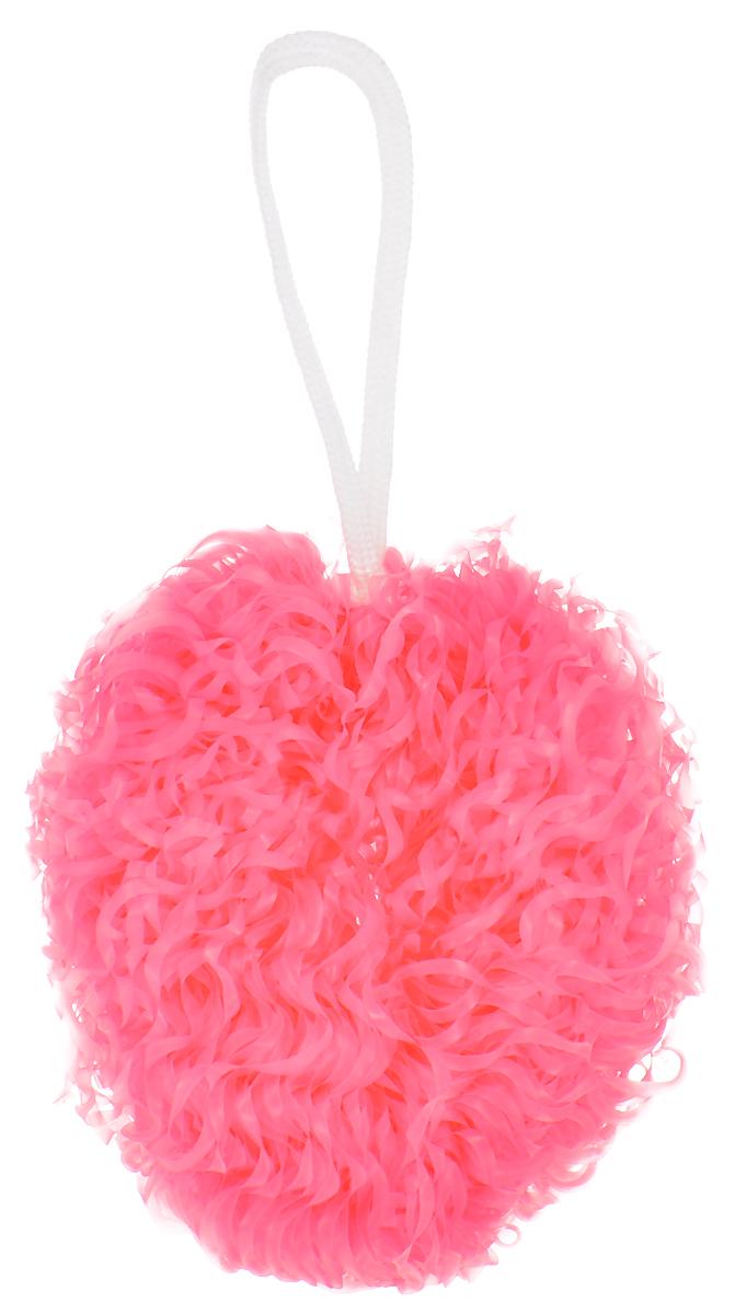 Мочалка Eva Бублик, банная, цвет розовый, диаметр 15 смМ352_розовыйМассажная мочалка Eva Бублик, изготовленная из полиэтилена (ПНД), станет незаменимым аксессуаром для мытья в бане. Она отлично пенится и быстро сохнет. Мочалка снабжена текстильной петелькой для подвешивания. Изделие обладает массажным эффектом, тонизирует и очищает кожу. Используется для профилактики и борьбы с целлюлитом.Подходит для всех типов кожи.Диаметр мочалки: 15 см.
