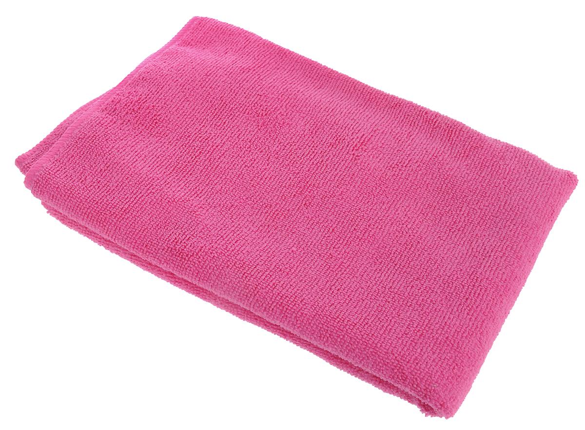 Тряпка для пола Celesta, из микрофибры, цвет: розовый, 50 х 60 см5604_розовыйТряпка для пола Celesta, выполненная из микрофибры (80% полиэстер, 20% полиамид), предназначена для мытья всех видов напольных поверхностей (паркет, плитка, ламинат, линолеум, кафель). В сухом виде - для ухода за потолками, стенами, ковровыми покрытиями. Тряпка деликатно очищает поверхность, не повреждая и не царапая. Не оставляет разводов и ворсинок. По сравнению с обычными тряпками впитывает во много раз больше влаги и пыли, благодаря повышенным абсорбционным и гигроскопичным свойствам. Можно использовать без моющих средств.