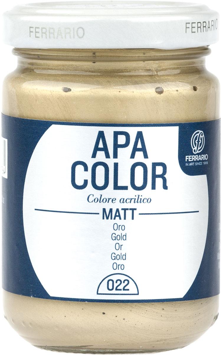 Ferrario Краска акриловая Apa Color цвет золото BA0095AO022BA0095AO022Матовая акриловая краска Apa Color итальянской компании Ferrario на водной основе, готова к использованию. Основные качества акриловой краски Apa Color: прочность, светостойкость и экологичность. Благодаря акриловой смоле Apa Color пластична и не дает трещин. Именно поэтому краска прекрасно ложится на любые поверхности, будь то стекло, дерево или ткань, что особенно хорошо в дизайне и декоре. Она быстро сохнет, после высыхания становится водостойкой. Акриловая краска Apa Color не потускнеет со временем, ее светостойкость не позволит измениться цвету, он не выгорит на солнце и не пожелтеет. Акриловая краска Apa Color – это отличный выбор в пользу яркой живописи, так как в ее палитре только глубокие и насыщенные цвета. Из-за того, что акриловая краска Apa Color на водной основе, она почти совсем не пахнет, малотоксична – подходит для работы в помещениях, можно заниматься творчеством вместе с детьми. Акриловая краска Apa Color разводится водой, однако это не значит, что для нее нельзя использовать специальные растворители и медиумы, предназначенные для акриловых красок – в этом случае сохраняется высокая пигментированность, но объем краски увеличивается и появляется возможность создания различных фактур и эффектов. Акриловую краску Apa Color легко наносить кистью, шпателем, валиком.