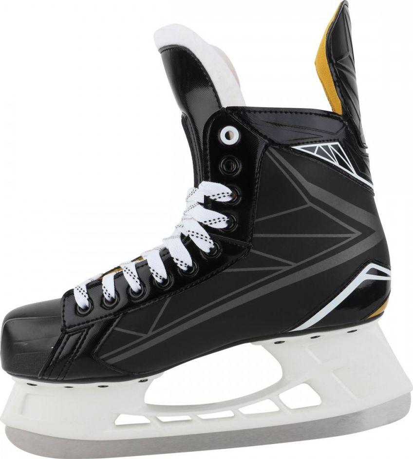 """Коньки хоккейные мужские Bauer """"Supreme S150"""", цвет: черный. 1048623. Размер 44"""