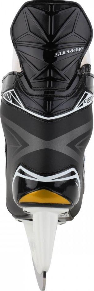 """Коньки хоккейные мужские Bauer """"Supreme S150"""", цвет: черный. 1048623. Размер 46"""