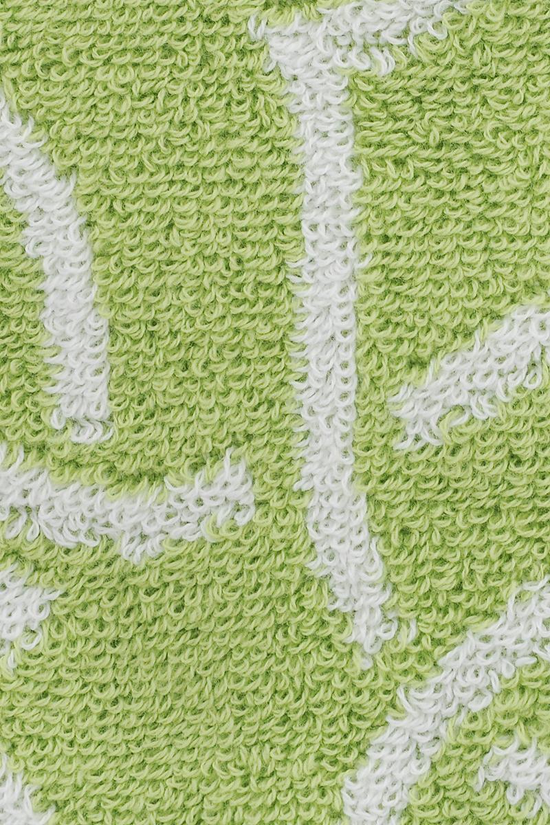 Махровое полотенце пестротканое, двухстороннее, украшенное оригинальным рисунком. Изготовлено из натурального хлопка.  Уход: Чтобы изделие прослужило вам как можно дольше рекомендуется стирать при деликатном режиме при температуре не более 40°С.  Используйте моющие средства для цветных тканей, тогда насыщенный цвет изделия сохранится надолго.