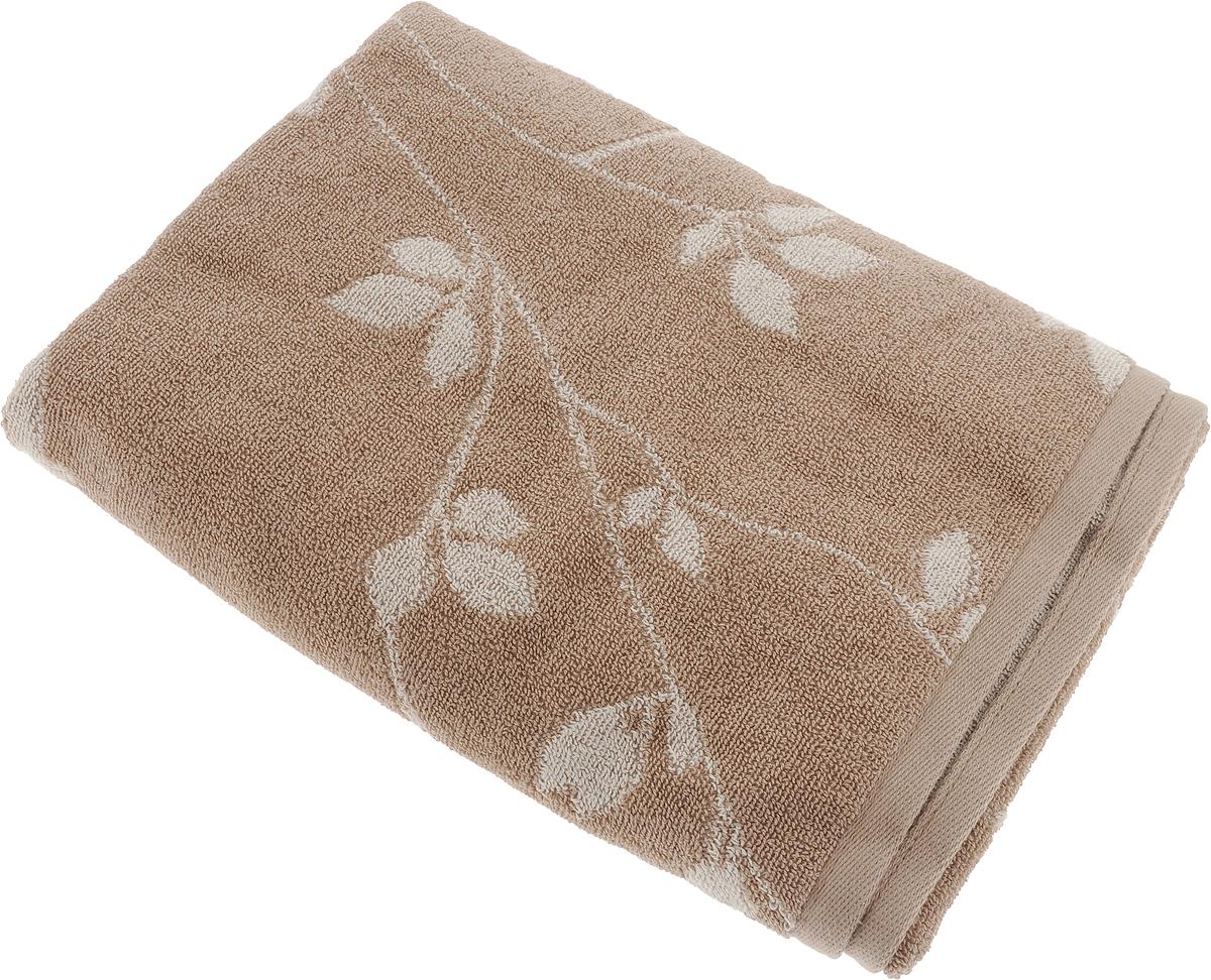 Полотенце банное Aquarelle Форест 2, цвет: мокко, бежевый, 70 х 140 см полотенце банное pupilla lamond dray 70 140 см