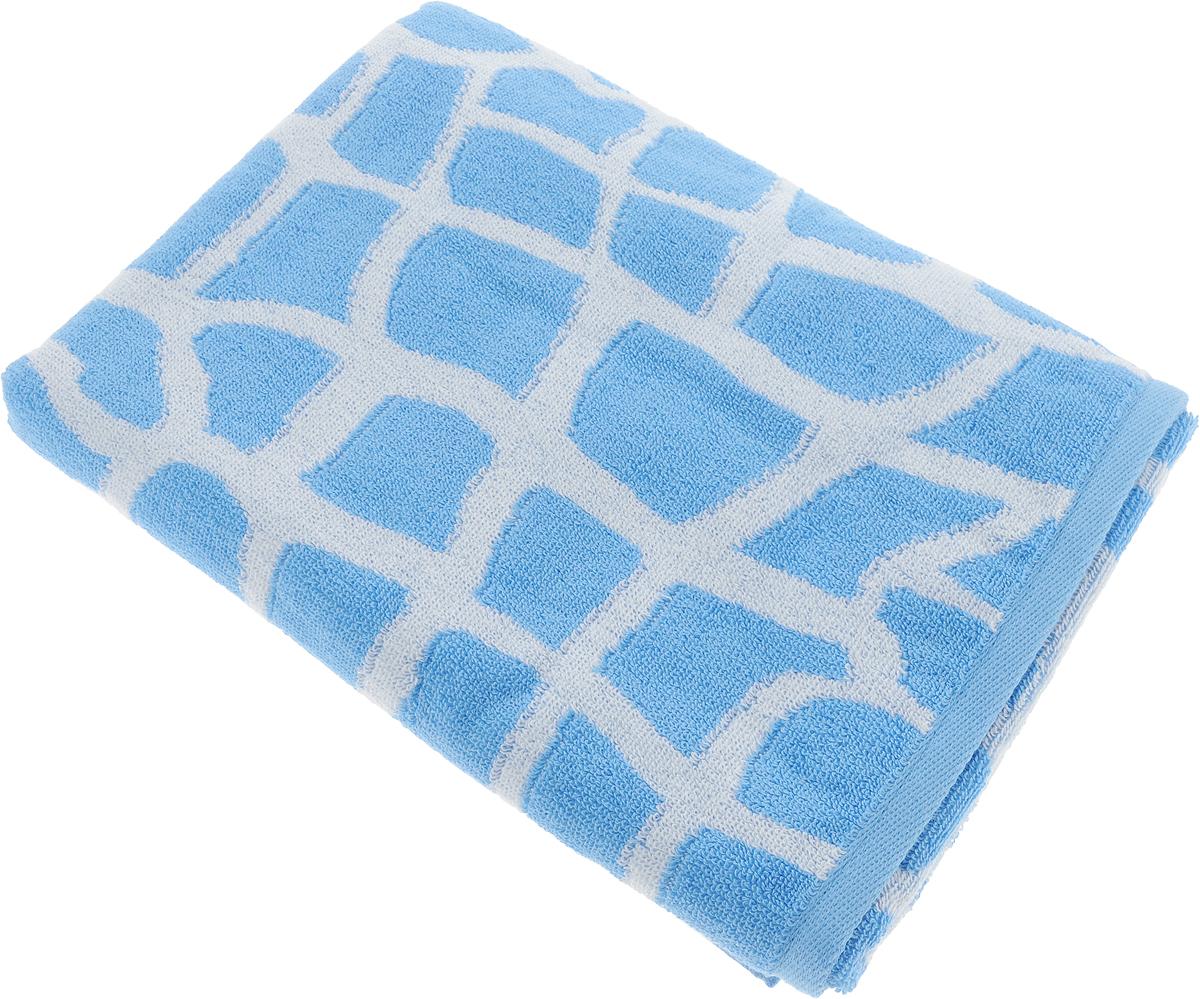 """Банное полотенце Aquarelle """"Мадагаскар"""" выполнено из махровой ткани, оформлено принтом """"жираф"""". Изделие отлично впитывает влагу, быстро сохнет, сохраняет яркость цвета и не теряет форму даже после многократных стирок.  Такое полотенце очень практично и  неприхотливо в уходе."""