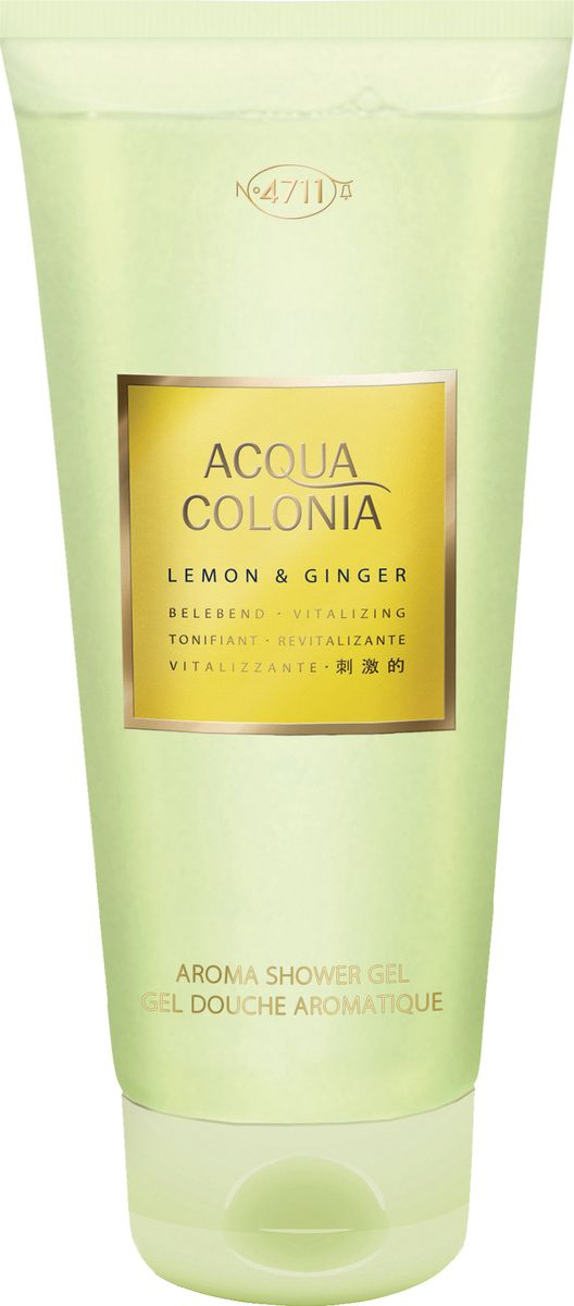 4711 Acqua Colonia Vitalizing Lemon & Ginger Гель для душа, 200 мл 4711 acqua colonia refreshing lime