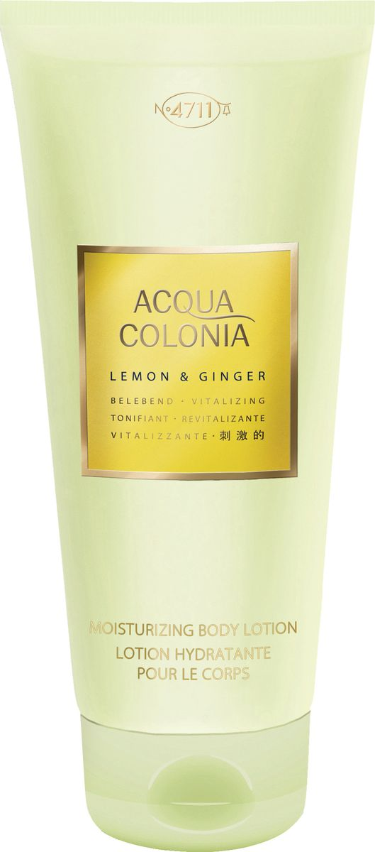 4711 Acqua Colonia Vitalizing Lemon & Ginger Лосьон для тела, 200 мл acqua di parma colonia club дезодорант стик colonia club дезодорант стик