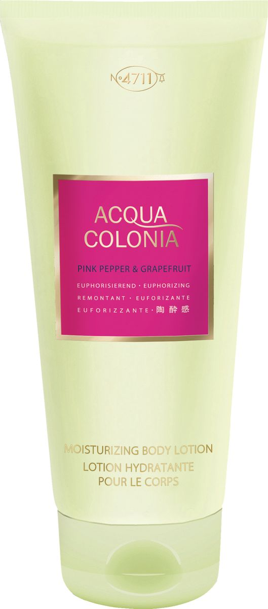 4711 Acqua Colonia Euphorizing Pink Pepper & Grapefruit Лосьон для тела, 200 мл лосьон для тела 200мл 4711 acqua colonia лосьон для тела 200мл