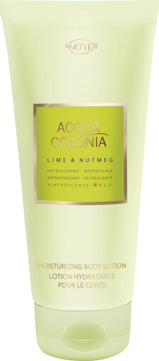 4711 Acqua Colonia Refreshing Lime & Nutmeg Лосьон для тела, 200 мл лосьон для тела 200мл 4711 acqua colonia лосьон для тела 200мл