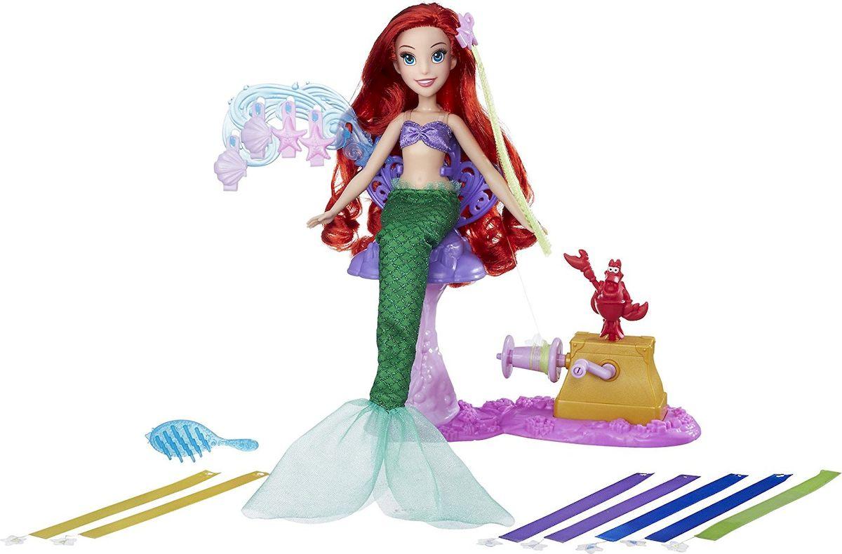 Disney Princess Игровой набор с куклой Королевский салон Ариэль - Куклы и аксессуары