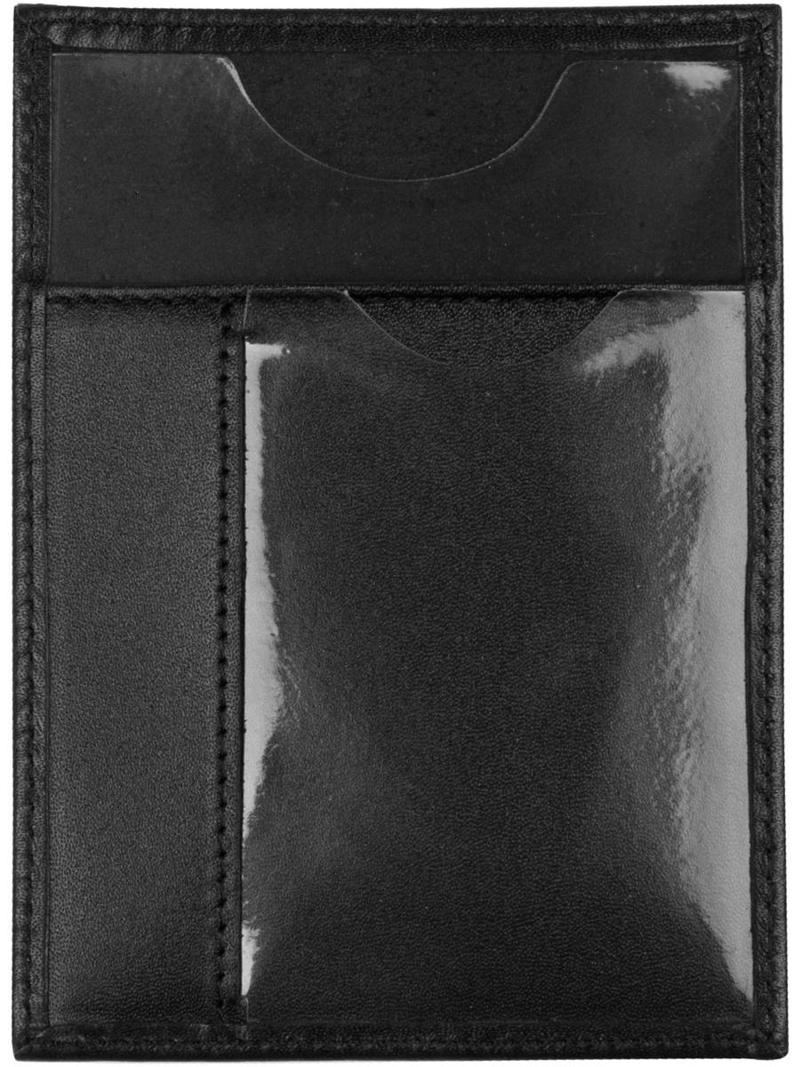 Обложка для автодокументов мужская Alliance, цвет: черный. 0-710Натуральная кожа
