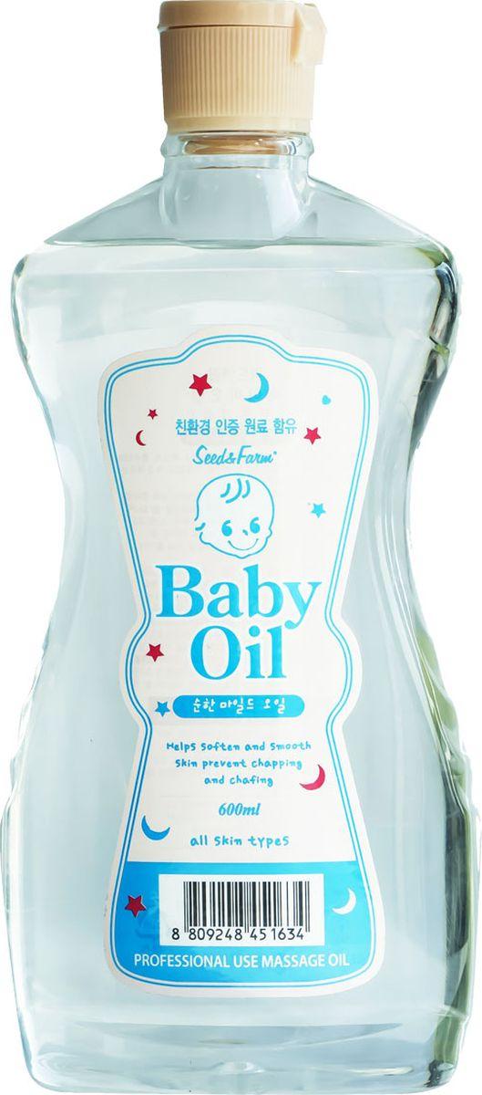 Seed & Farm Детское массажное масло с эфирными маслами и маслом макадамии 670 мл - Косметика по уходу за кожей