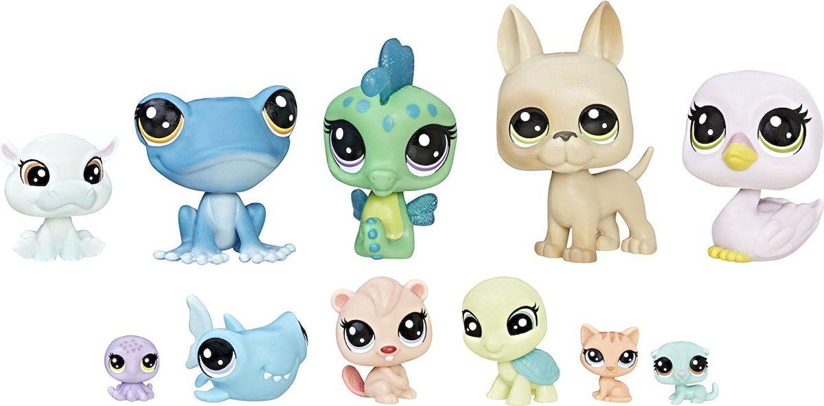 Littlest Pet Shop Набор фигурок Cabin Crew 11 шт купить littlest pet shop старая коллекция купить