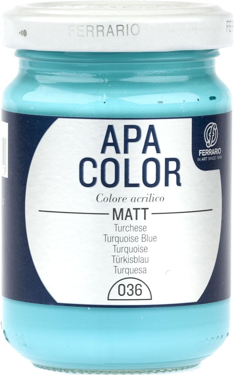 Ferrario Краска акриловая Apa Color цвет турецкийBA0095AO036Матовая акриловая краска Apa Color итальянской компании Ferrario на водной основе, готова к использованию. Основные качества акриловой краски Apa Color: прочность, светостойкость и экологичность. Благодаря акриловой смоле Apa Color пластична и не дает трещин. Именно поэтому краска прекрасно ложится на любые поверхности, будь то стекло, дерево или ткань, что особенно хорошо в дизайне и декоре. Она быстро сохнет, после высыхания становится водостойкой. Акриловая краска Apa Color не потускнеет со временем, ее светостойкость не позволит измениться цвету, он не выгорит на солнце и не пожелтеет. Акриловая краска Apa Color – это отличный выбор в пользу яркой живописи, так как в ее палитре только глубокие и насыщенные цвета. Из-за того, что акриловая краска Apa Color на водной основе, она почти совсем не пахнет, малотоксична – подходит для работы в помещениях, можно заниматься творчеством вместе с детьми. Акриловая краска Apa Color разводится водой, однако это не значит, что для нее нельзя использовать специальные растворители и медиумы, предназначенные для акриловых красок – в этом случае сохраняется высокая пигментированность, но объем краски увеличивается и появляется возможность создания различных фактур и эффектов. Акриловую краску Apa Color легко наносить кистью, шпателем, валиком.