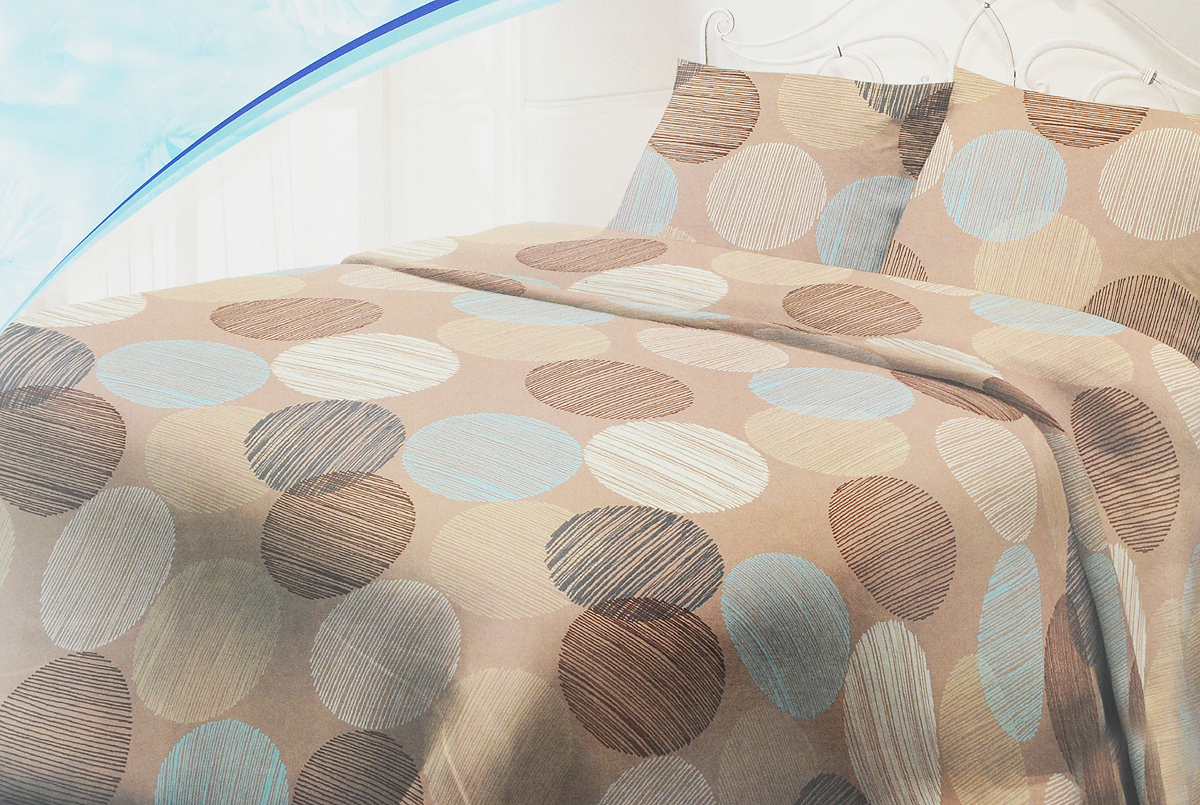 Комплект постельного белья Самойловский текстиль Капучино, 1,5-спальный, наволочки 50х70, цвет: коричневый. 713563713563Комплекты постельного белья Самойловский текстиль - это максимально натуральный, естественный комфорт и невероятно приятные тактильные ощущения и актуальные современные дизайны. Чрезвычайно мягкая на ощупь поверхность хлопковой ткани Cottonsoft - будто нежный и мягкий лепесток цветка. Она имеет бархатистую структуру благодаря использованию особого сырья и технологий при производстве. Неприхотливая в уходе, 100% натуральная, износостойкая, но самое главное - особенно мягкая, она безусловно понравится тем, кто любит понежиться в постели и станет отличной альтернативой традиционным комплектам из тканей полотняной структуры.