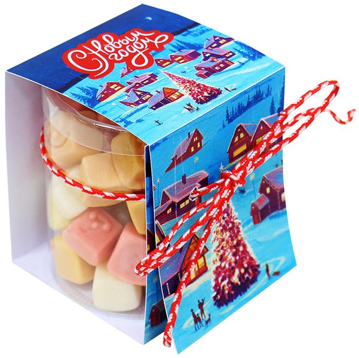 Вкусная помощь Набор конфет Новогоднее настроение, 100 г конфеты вкусная помощь для гениальных идей 38 г