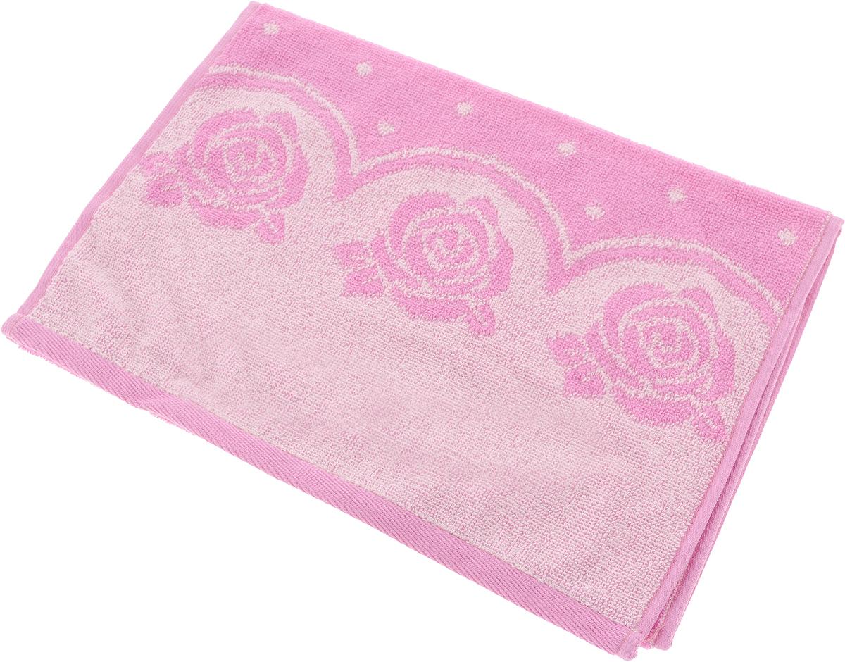 Полотенце Aquarelle Розы 3, цвет: розовый, орхидея, 35 х 70 см710683Махровое полотенце Aquarelle Розы 3 изготовлено из натурального 100% хлопка.Это мягкое и нежное полотенце добавит ярких красок и позитивного настроя в каждый день. Изделие отлично впитывает влагу, быстро сохнет, сохраняет яркость цвета даже после многократных стирок.