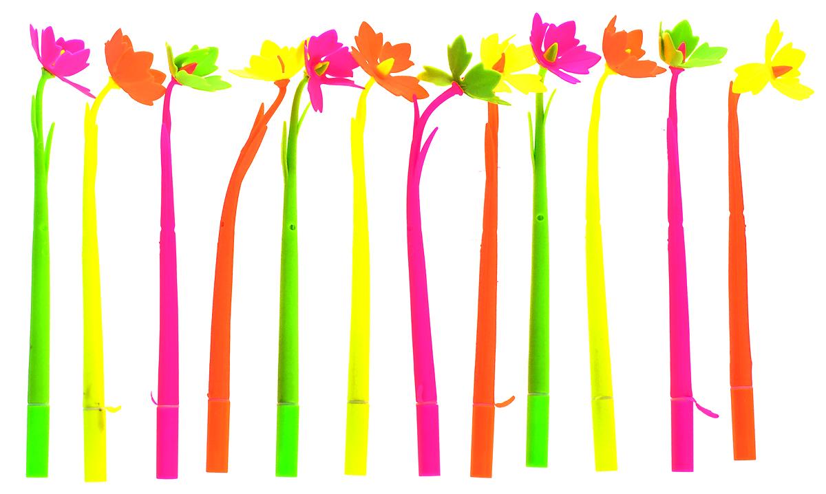 Эврика Ручки мягкие 12 шт 9619196191Оригинальные шариковые ручки Эврика выполнены из мягкого полимера в виде симпатичных цветочков. Ручки могут гнуться в разные стороны. Гибкие, удобные ручки с нескользящим корпусом, шариковым пишущим стержнем и удивительным флористическим дизайном вдохновят свежестью формы каждого обладателя. Ручки с синими чернилами и компактными пластиковыми колпачками. Такая ручка станет отличным подарком и незаменимым аксессуаром, она несомненно, удивит и порадует получателя. Сотрудниц, родных, знакомых и любимых девушек можно радовать целыми букетами, составленными из ручек с разным декором.
