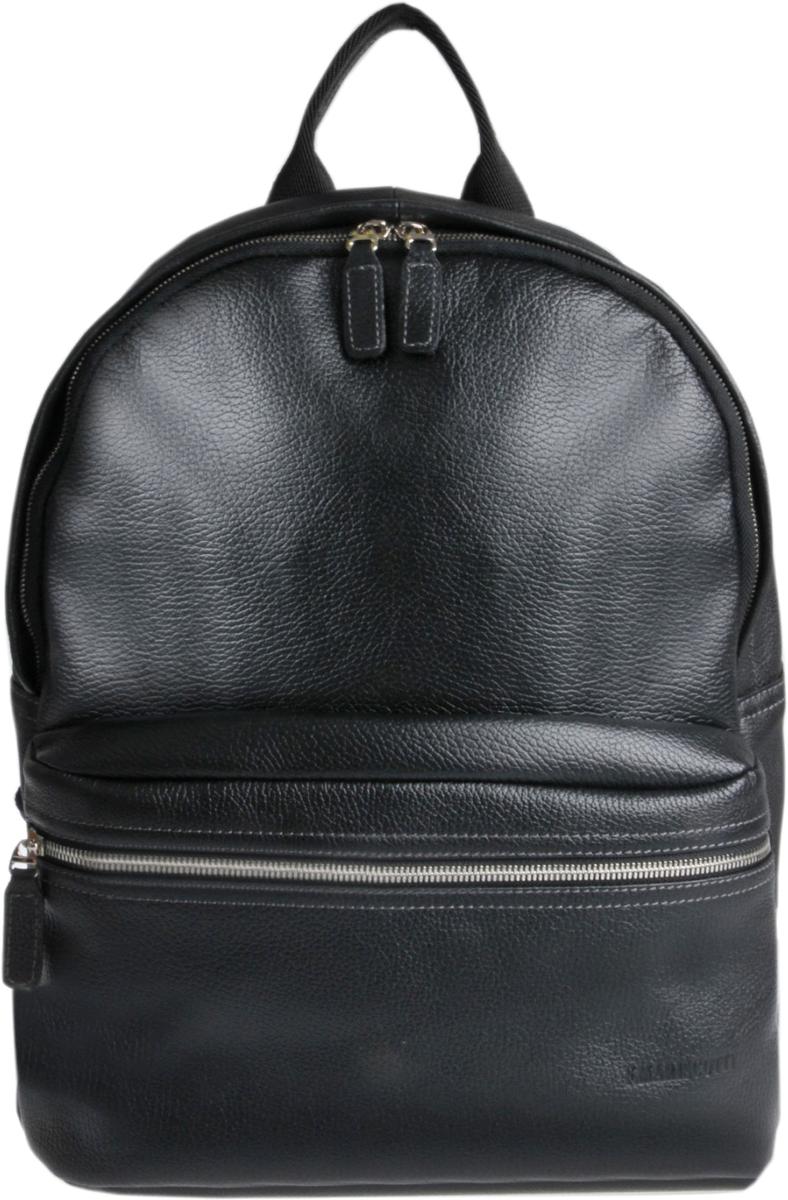 Рюкзак мужской Franchesco Mariscotti, цвет: черный. 2-680кFM рюкзак мужской bruno perri цвет коричневый l7362 2