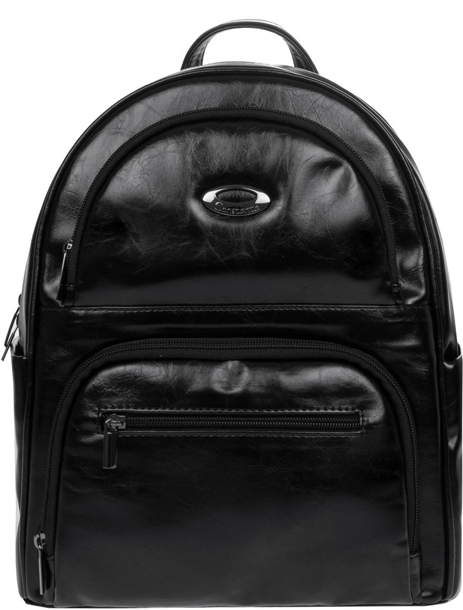 Рюкзак женский Constanta, цвет: черный. 1-2840-879