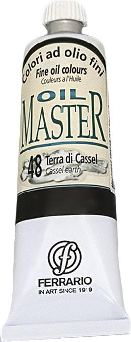 Ferrario Краска масляная Oil Master цвет №48 земля кассельAM0030CO048Масло OIL MASTER итальянской компании Ferrario подходит как начинающим художникам, так и профессионалам. Краска изготавливается из светостойких пигментов мелкого помола. Благодаря тому, что некоторые натуральные пигменты были заменены на аналоги краски серии OIL MASTER стали более доступны по цене. Светостойкие краски отлично лессируются и хорошо смешиваются между собой. Краску можно разбавлять льняным маслом, терпентином или нефтяными разбавителями. В работе с красками используют кисти из щетины, синтетики и волоса колонка. Серия состоит из 50 цветов.