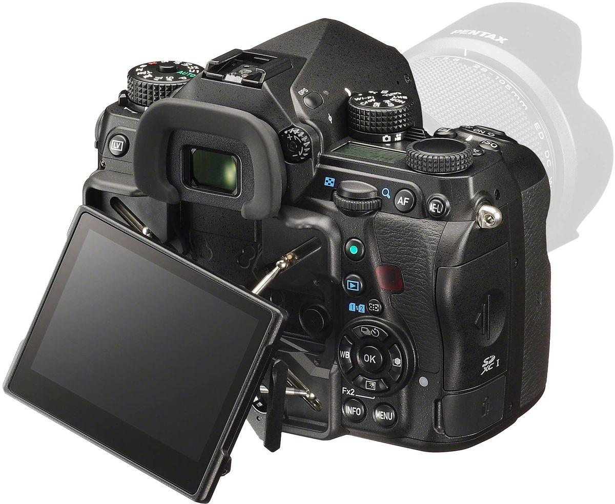 Pentax K-1 Kit 28-105mm, Blackцифровая зеркальная фотокамера Pentax