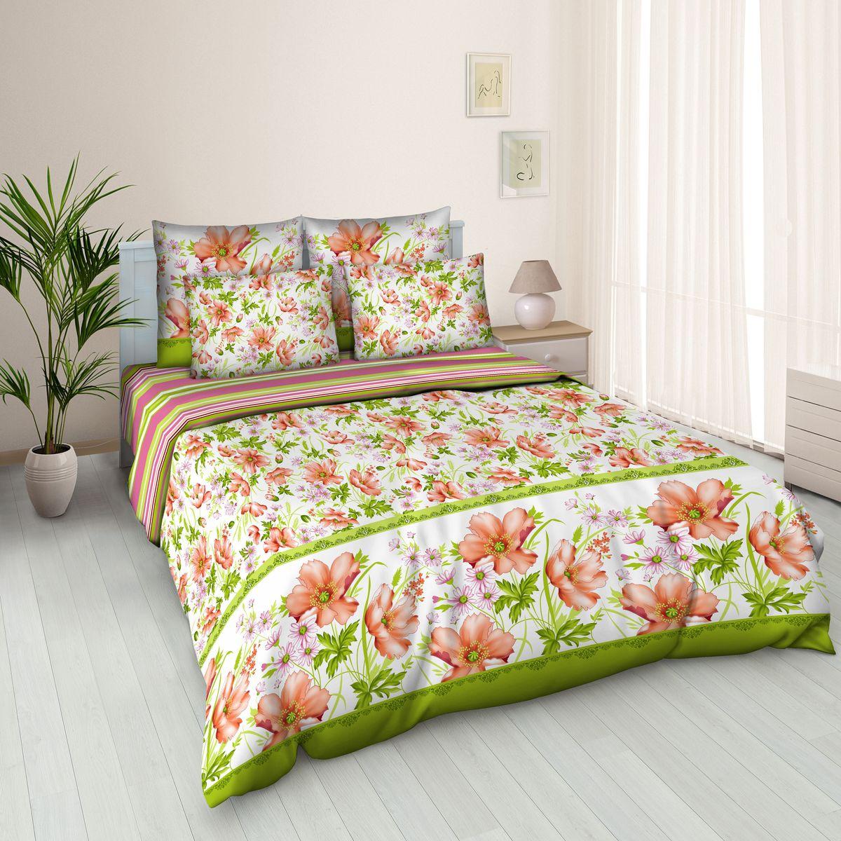 Комплект белья Amore Mio Nikoli, 2-спальный, наволочки 70х7087055Постельное белье из бязи практично и долговечно, а самое главное - это 100% хлопок! Материал великолепно отводит влагу, отлично пропускает воздух, не капризен в уходе, легко стирается и гладится. Новая коллекция Naturel 3-D дизайнов позволит выбрать постельное белье на любой вкус!