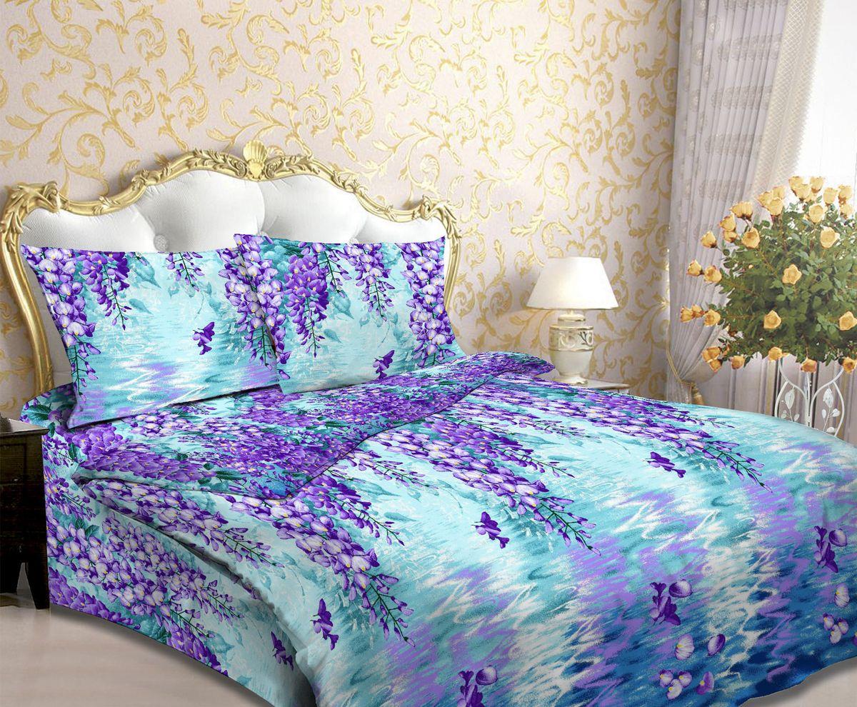 Комплект белья Amore Mio Kape, 1,5-спальный, наволочки 70х70 комплект белья amore mio light евро наволочки 70х70