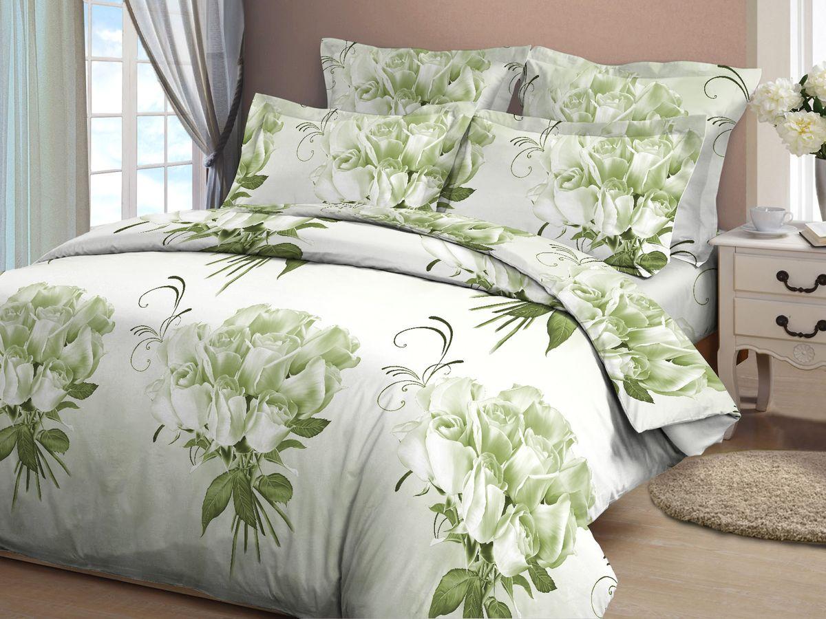 Комплект белья Amore Mio Rozy komp, 1,5-спальный, наволочки 70х7089314Постельное белье из бязи практично и долговечно, а самое главное - это 100% хлопок! Материал великолепно отводит влагу, отлично пропускает воздух, не капризен в уходе, легко стирается и гладится. Новая коллекция Naturel 3-D дизайнов позволит выбрать постельное белье на любой вкус!