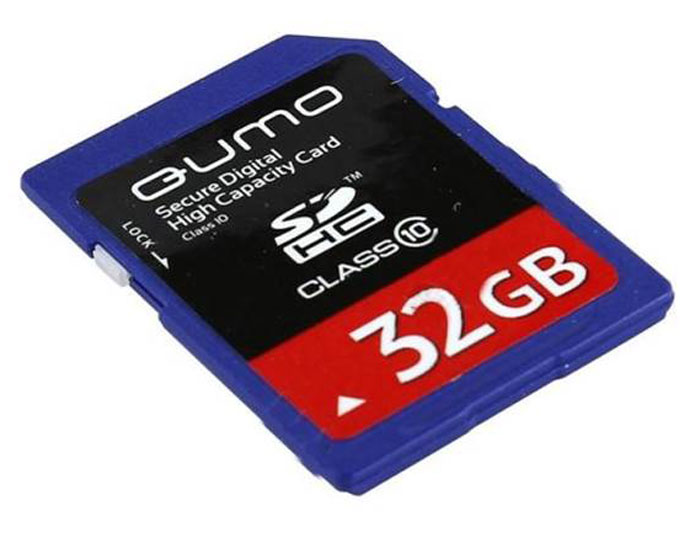 QUMO SDHC Class 10 32GB карта памяти