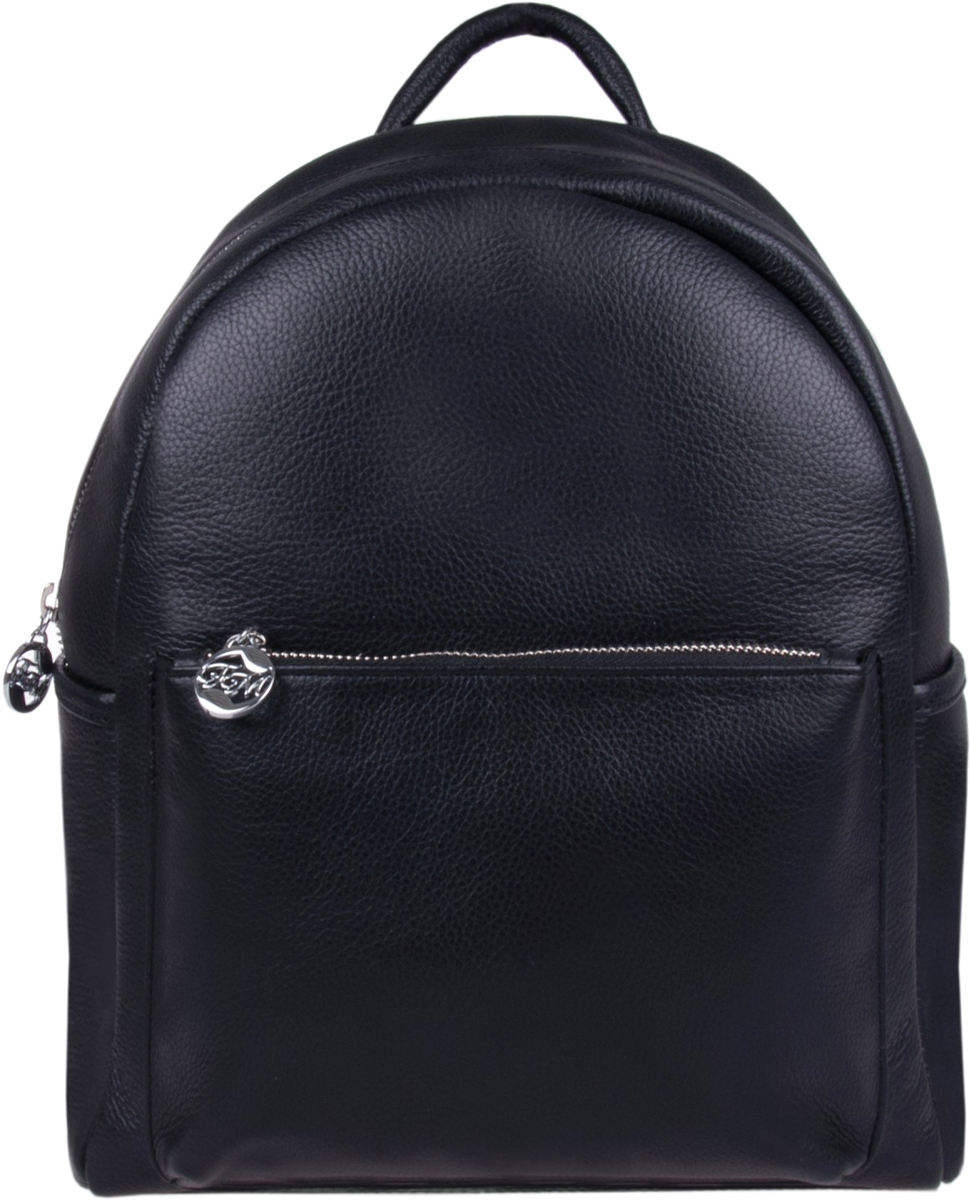 Сумка-рюкзак женская Franchesco Mariscotti, цвет: черный. 1-3906к пл