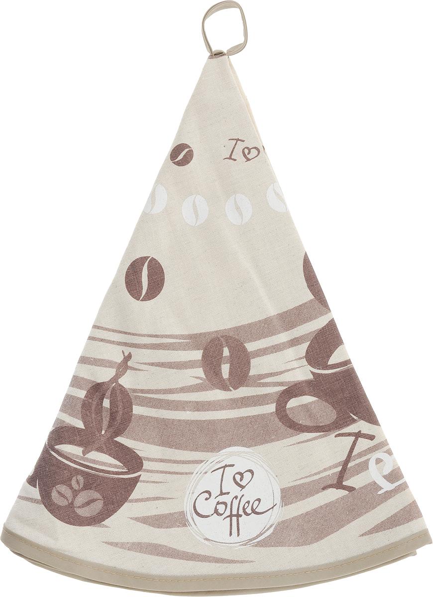 Полотенце кухонное LarangE От Шефа. Кофе, круглое, диаметр 70 см627-004Кухонное полотенце LarangE От Шефа. Кофе, изготовленное из льна и хлопка, оформлено оригинальным рисунком. Полотенце идеально впитывает влагу исохраняет свою мягкость даже после многих стирок. Полотенце LarangE От Шефа. Кофе - отличный вариант для практичной и современной хозяйки.
