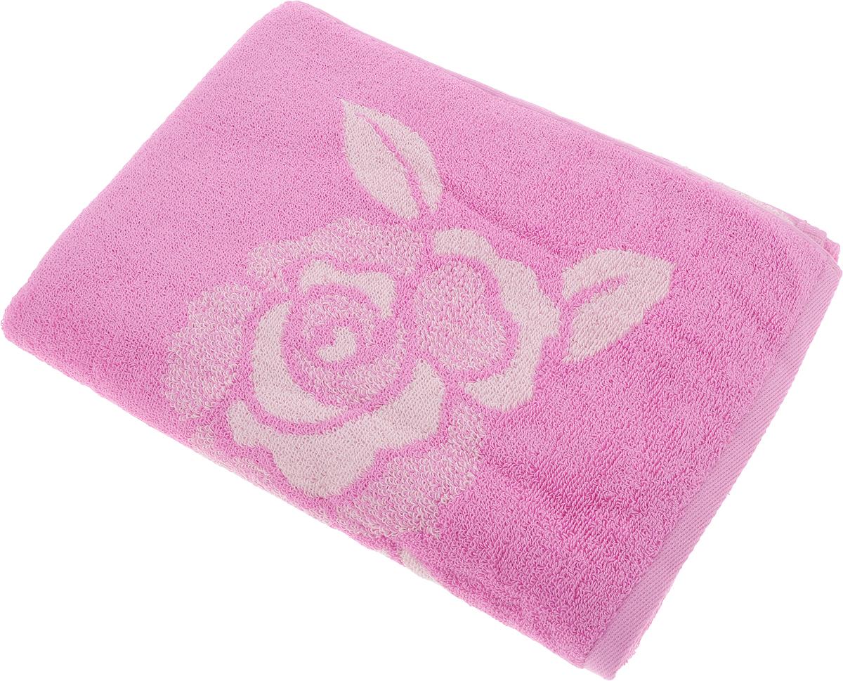 Полотенце Aquarelle Розы 1, цвет: розовый, орхидея, 70 х 140 см710448Махровое полотенце Aquarelle Розы 1 изготовлено из натурального 100% хлопка.Это мягкое и нежное полотенце добавит ярких красок и позитивного настроя в каждый день. Изделие отлично впитывает влагу, быстро сохнет, сохраняет яркость цвета даже после многократных стирок.