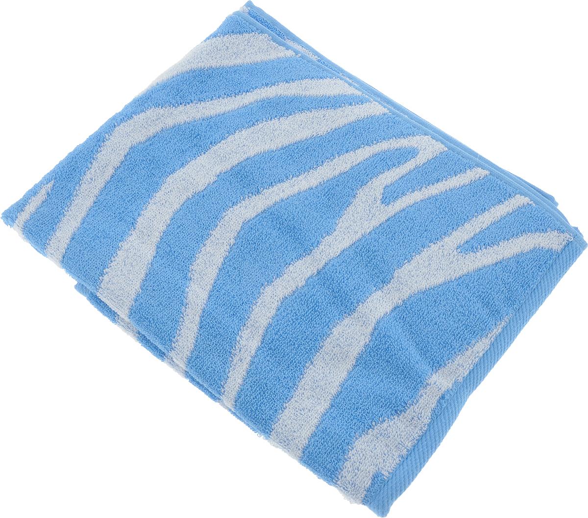 Полотенце Aquarelle Мадагаскар. Зебра, цвет: белый, синий, 50 х 90 см713166Махровое полотенце Aquarelle Мадагаскар. Зебра изготовлено из натурального 100% хлопка.Это мягкое и нежное полотенце добавит ярких красок и позитивного настроя в каждый день. Изделие отлично впитывает влагу, быстро сохнет, сохраняет яркость цвета даже после многократных стирок.