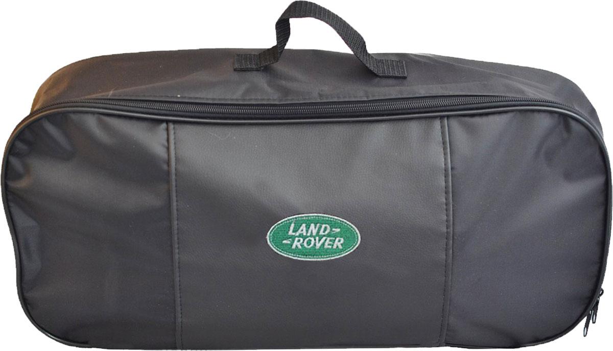 Набор аварийный в сумке Autopremium с логотипом Land Rover67369Автомобильный набор в сумке с логотипом оснащен базовыми элементами, которые необходимы каждому автолюбителю. Состав набора:- аптечка первой помощи автомобильная; - трос буксировочный 5т/пет/пакет;- Огнетушитель порошковый ОП-2(з) -АВСЕ, с металлическим ЗПУ;- знак аварийной остановки; - сумка для набора техосмотра Премиум со вставкой из экокожи и вышивкой. Размер сумки 47х21х13.