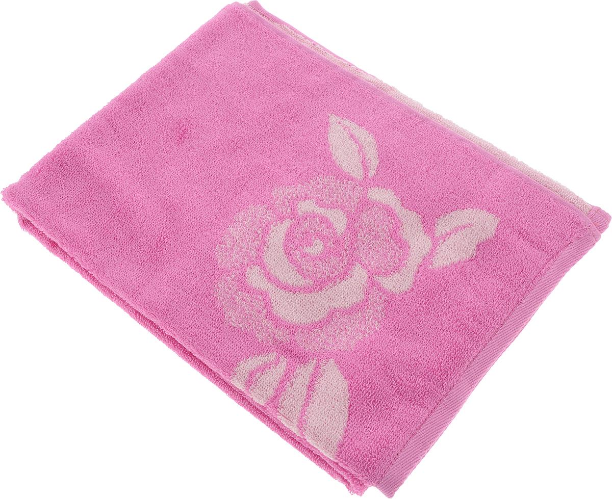 Полотенце Aquarelle Розы 1, цвет: розовый, орхидея, 50 х 90 см710446Махровое полотенце Aquarelle Розы 1 изготовлено из натурального 100% хлопка.Это мягкое и нежное полотенце добавит ярких красок и позитивного настроя в каждый день. Изделие отлично впитывает влагу, быстро сохнет, сохраняет яркость цвета даже после многократных стирок.