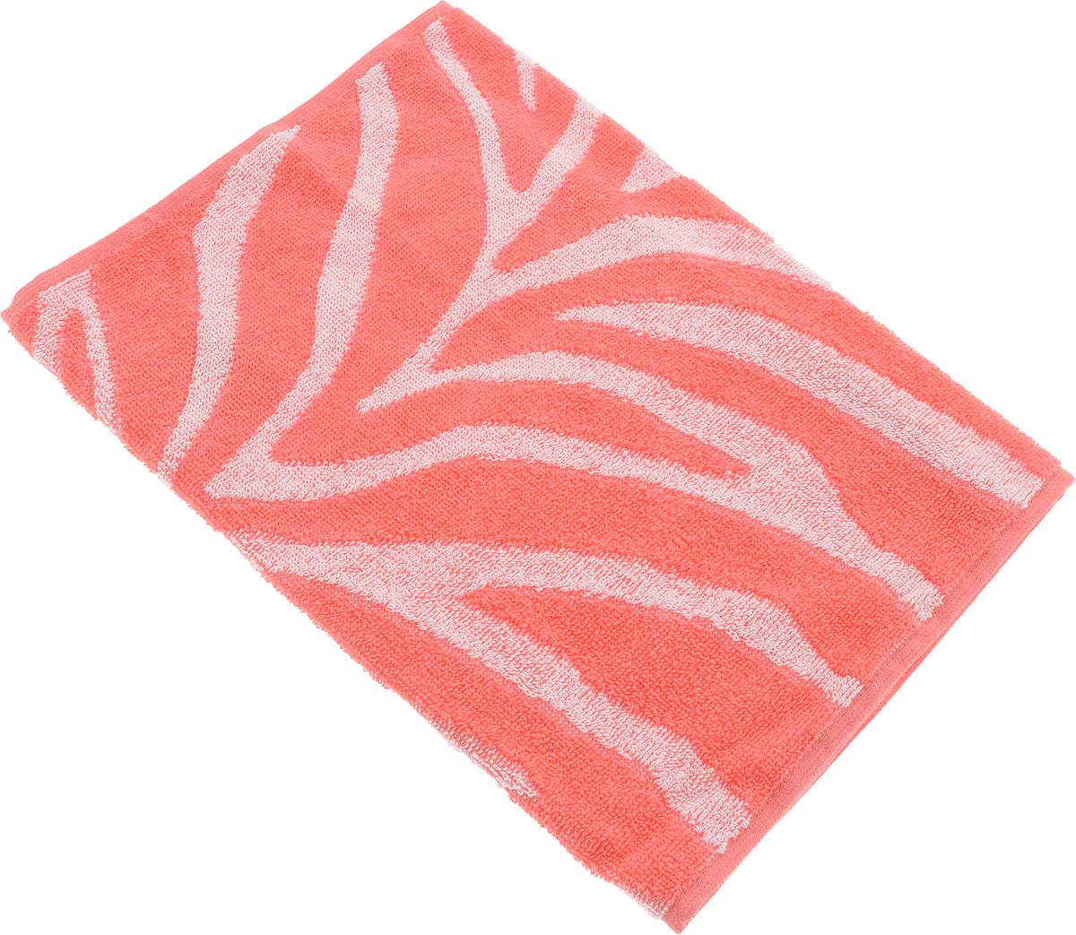 Полотенце Aquarelle Мадагаскар. Зебра, цвет: белый, коралловый, 35 х 70 см713153Махровое полотенце Aquarelle Мадагаскар. Зебра изготовлено из натурального 100% хлопка.Это мягкое и нежное полотенце добавит ярких красок и позитивного настроя в каждый день. Изделие отлично впитывает влагу, быстро сохнет, сохраняет яркость цвета даже после многократных стирок.