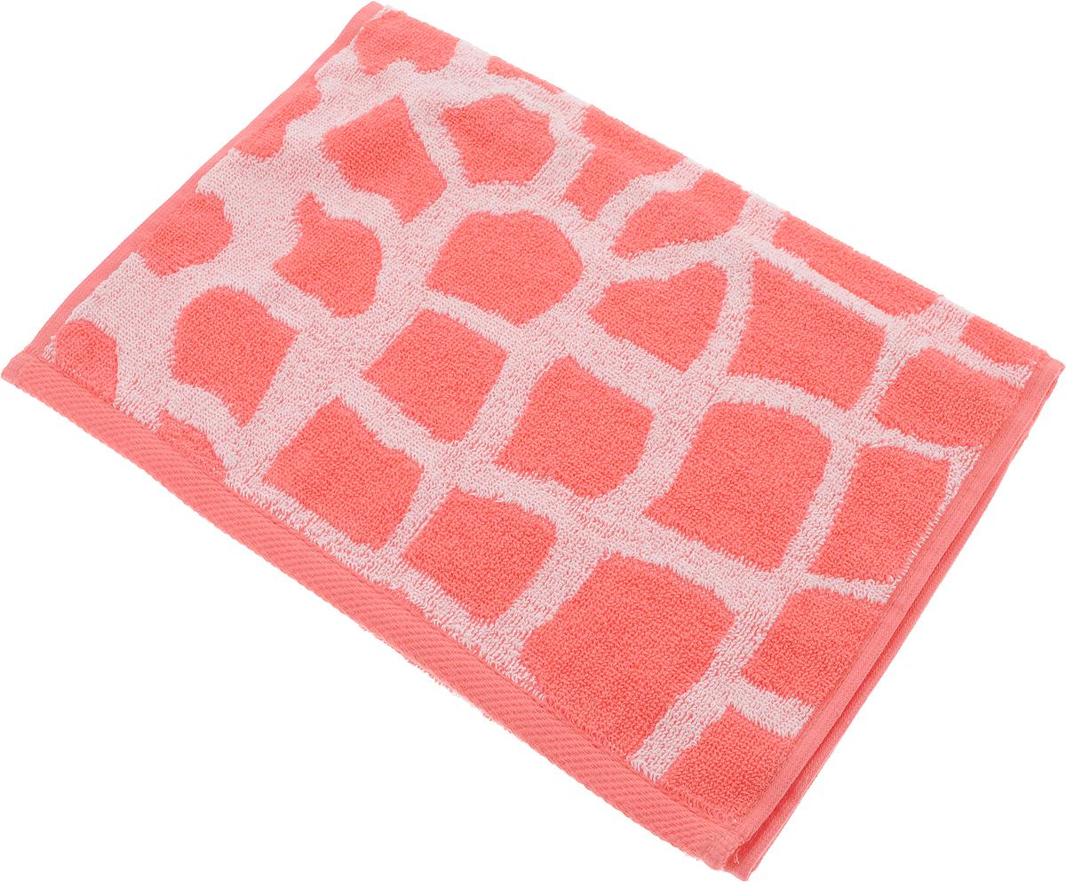 Полотенце Aquarelle Мадагаскар. Жираф, цвет: белый, коралловый, 35 х 70 см713157Махровое полотенце Aquarelle Мадагаскар. Жираф изготовлено из натурального 100% хлопка.Это мягкое и нежное полотенце добавит ярких красок и позитивного настроя в каждый день. Изделие отлично впитывает влагу, быстро сохнет, сохраняет яркость цвета даже после многократных стирок.