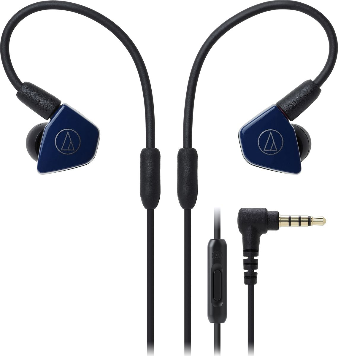 Audio-Technica ATH-LS50IS, Blue наушники15119536Внутриканальные наушники Audio-Technica ATH-LS50IS со сдвоенными излучателями обеспечат вам действительно живое концертное звучание, как будто вы находитесь в первом ряду. Сдвоенные драйверы располагаются в одном корпусе и работают синфазно, тем самым уменьшая деформацию мембраны и обеспечивая сбалансированное звучание с мощным басом. Корпус модели выполнен из прочного ABS-пластика, что способствует снижению нежелательных резонансов.ATH-LS50iS оснащены съёмным кабелем с разъёмом A2DC, который снижает переходное затухание и улучшает разделение каналов. Кабель имеет микрофон и пульт управления, с помощью которого вы сможете управлять звонками и воспроизведением музыки. Гибкость кабеля с памятью формы позволит подобрать удобную посадку в ухе, что сказывается на фиксации наушника и комфорте ношения.8,8-мм сдвоенные излучателиСбалансированное звучание с мощным басом и отличной детальностьюГибкий съёмный кабель с памятью формыРазъём кабеля A2DCФункция гарнитурыКорпус из прочного ABS-пластикаАмбушюры четырёх размеров и чехол для хранения в комплекте