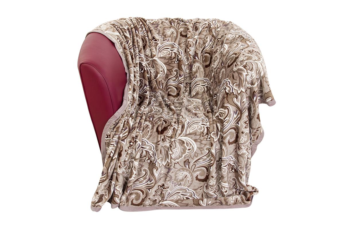 Плед EL Casa Золотые узоры, 180 х 200 см960100Уютный, легкий и прочный плед в оригинальном дизайне послужит украшением декора Вашей комнаты и согреет Вас и Ваших близких. Устойчив к истиранию и скатыванию, не мнется, не деформируется, сохранит первоначальный вид даже при активном использовании и многочисленных стирках. Такой плед идеален в качестве подарка на любой праздник. Изделие в подарочной сумке с ручками.