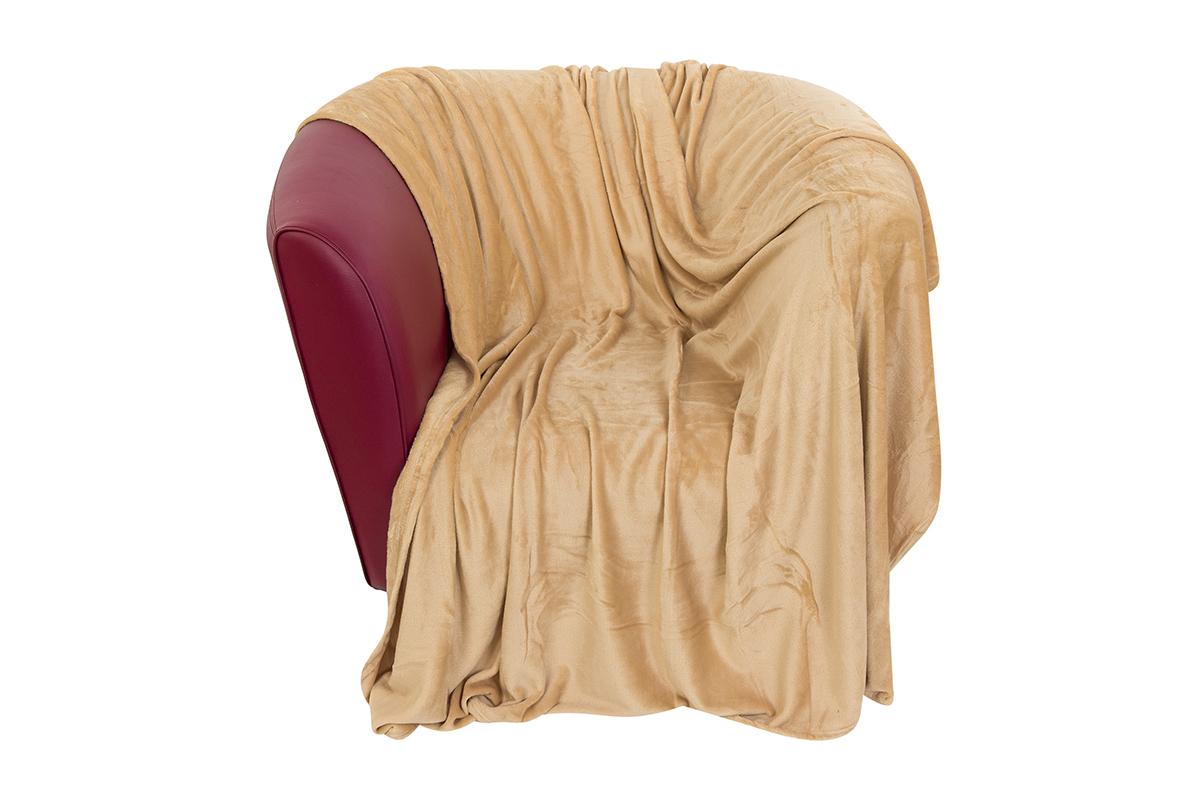 Плед EL Casa Сладкая карамель, 150 х 200 см960116Уютный, легкий и прочный плед в оригинальном дизайне послужит украшением декора Вашей комнаты и согреет Вас и Ваших близких. Устойчив к истиранию и скатыванию, не мнется, не деформируется, сохранит первоначальный вид даже при активном использовании и многочисленных стирках. Такой плед идеален в качестве подарка на любой праздник. Изделие в подарочной сумке с ручками.